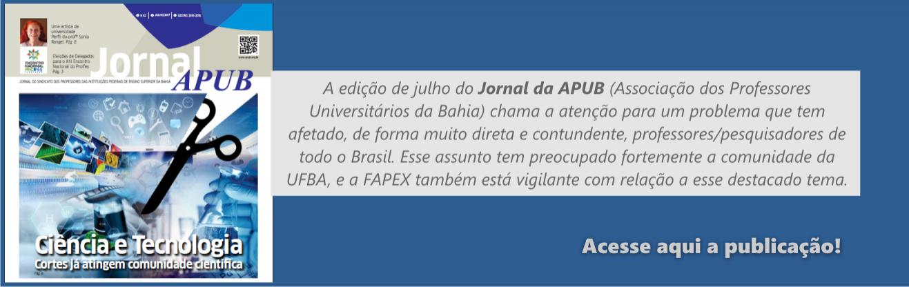 Confira a edição de julho da APUB!